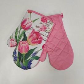 Kuchyňské rukavice Tulipány 4760