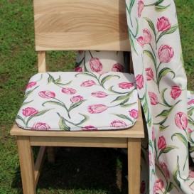 Podsedák na stoličku Tulipány