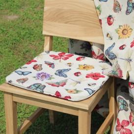 Podsedák na stoličku Motýle