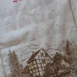 Textilný kalendár 2022 - Mlyn