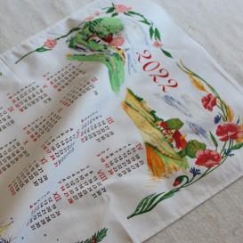 Textilný kalendár 2022 -4 ročné obdobia