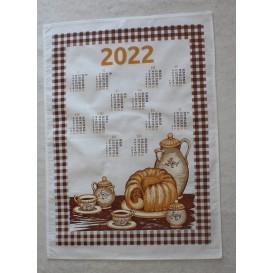 Textilný kalendár 2022 - Raňajky
