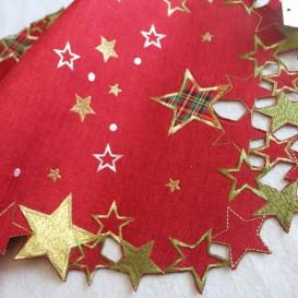 Vianočný vyšívaný obrus 4862 35x50cm