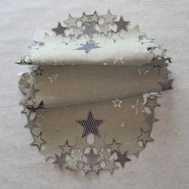 Vianočný vyšívaný obrus 4861 40x85cm