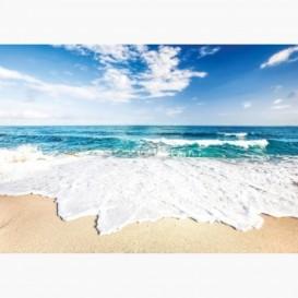 Fototapeta - FT6097 - Príbojové vlny na pláži