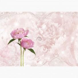 Fototapeta - FT6120 - Ružové kvety