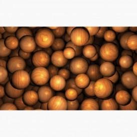 Fototapeta - FT6142 - Dřevěné kuličky