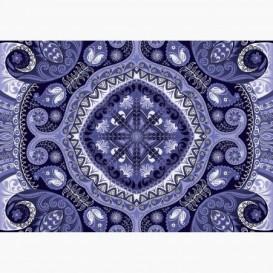 Fototapeta - FT6145 - Modrý ornament