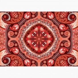 Fototapeta - FT6147 - Červený ornament