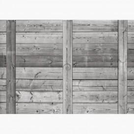 Fototapeta - FT6336 - Drevený obklad šedý
