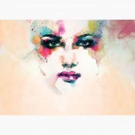 Fototapeta - FT6371 - Akvarelová kresba ženy