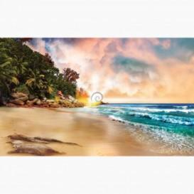 Fototapeta - FT6439 - Tropická pláž pri západe slnka