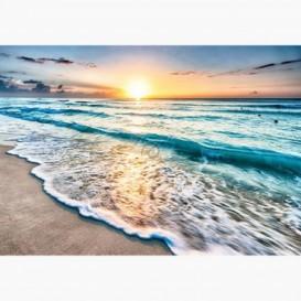 Fototapeta - FT6481 - Západ slnka pri oceáne