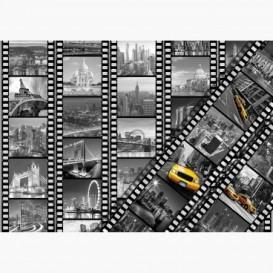 Fototapeta - FT6584 - Dominanty miest na filme