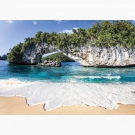 Fototapeta - FT6586 - Prírodní vápencový oblúk v Palau