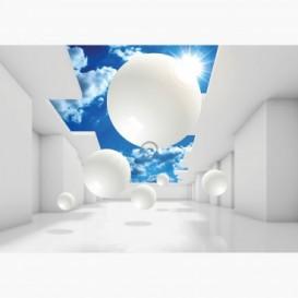 Fototapeta - FT6811 - Bílé 3d koule