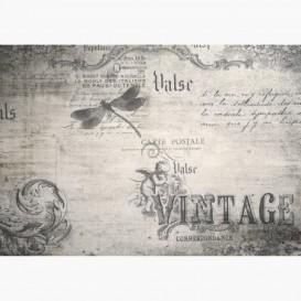 Fototapeta - FT7000 - Vintage koláž