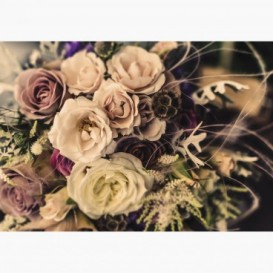 Fototapeta - FT7013 - Vintage kytica ruží