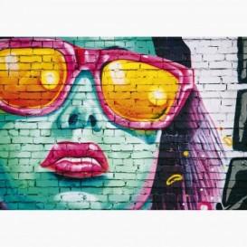 Fototapeta - FT7033 - Graffity žena
