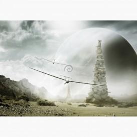 Fototapeta - FT7217 - Kluzáky na mimozemské planetě