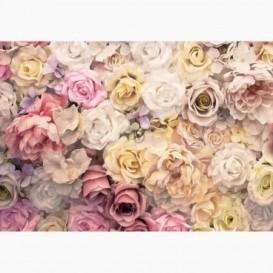 Fototapeta - FT7572 - Farebné vintage kvety
