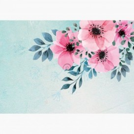 Fototapeta - FT7575 - Ružové kvety