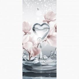 Fototapeta - DV1055 - Abstraktné kvety a voda