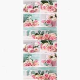 Fototapeta - DV1111 - Růžové růže