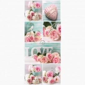Fototapeta - DV1112 - Růžové růže