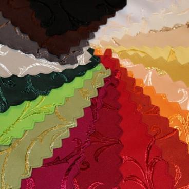Jednofarebné so vzorom